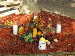 altar mabon otoño