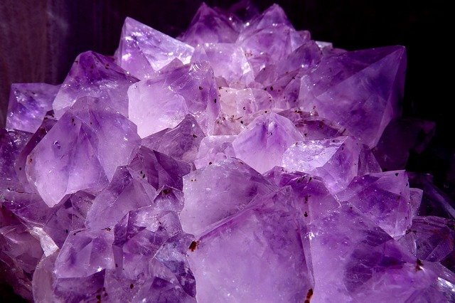 Mineral de amatista