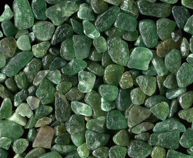 Piedras de aventurina
