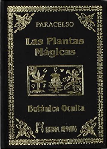 Portada libro Plantas mágicas Paracelso