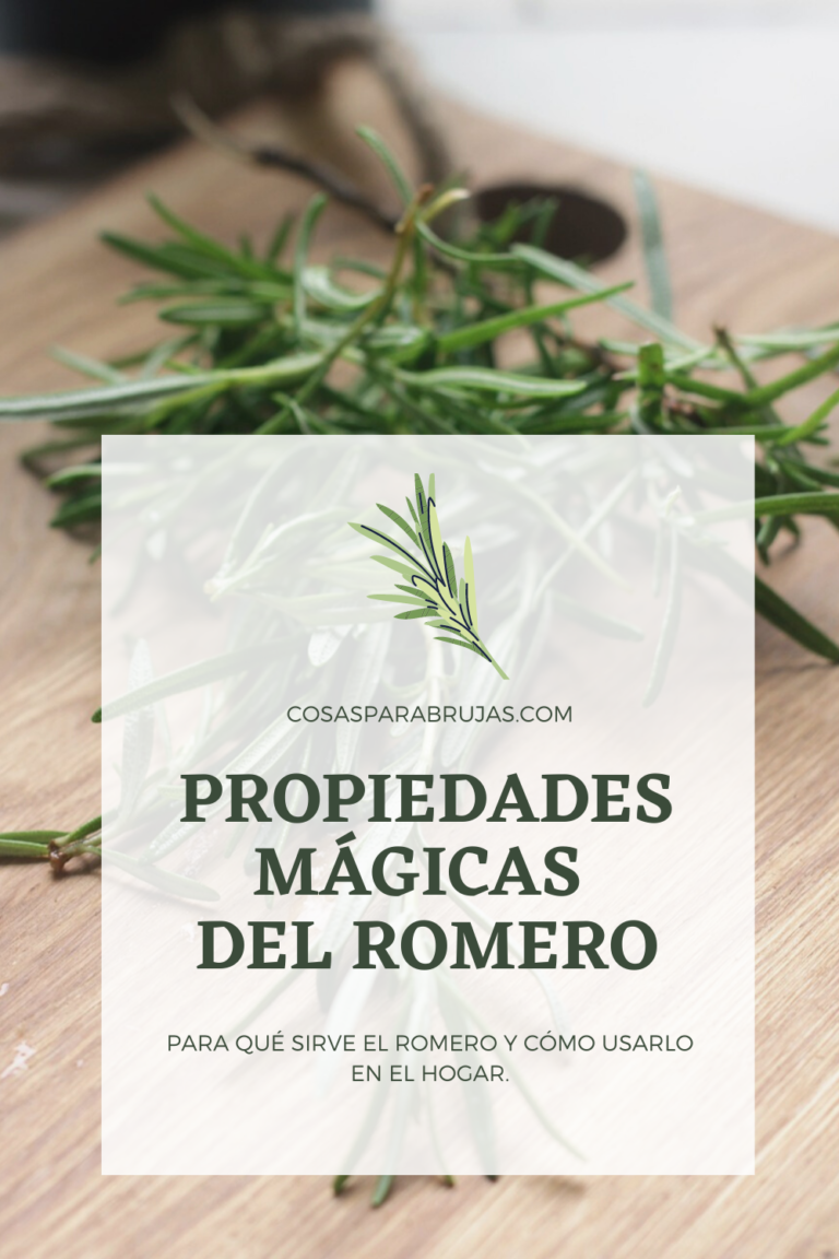 PROPIEDADES MÁGICAS DEL ROMERO