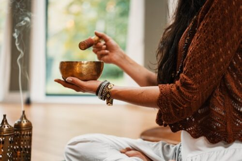 cuenco tibetano aprender a meditar en casa