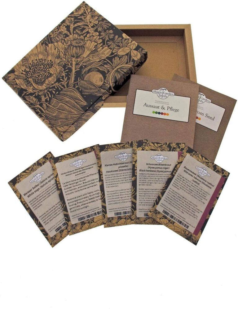 caja de semillas mágicas