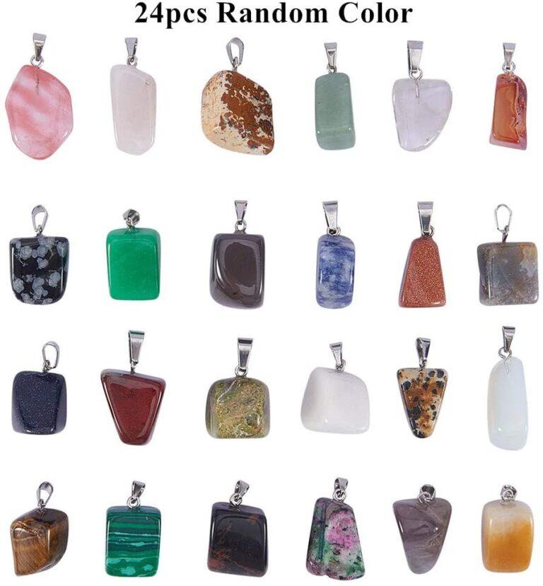 piedras mágicas colgante
