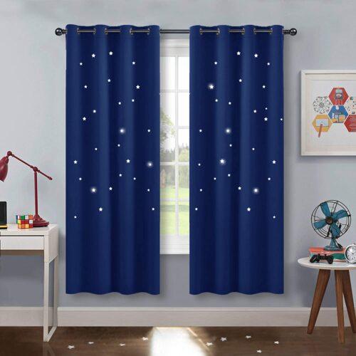 cortinas con estrellas regalo de navidad para brujas
