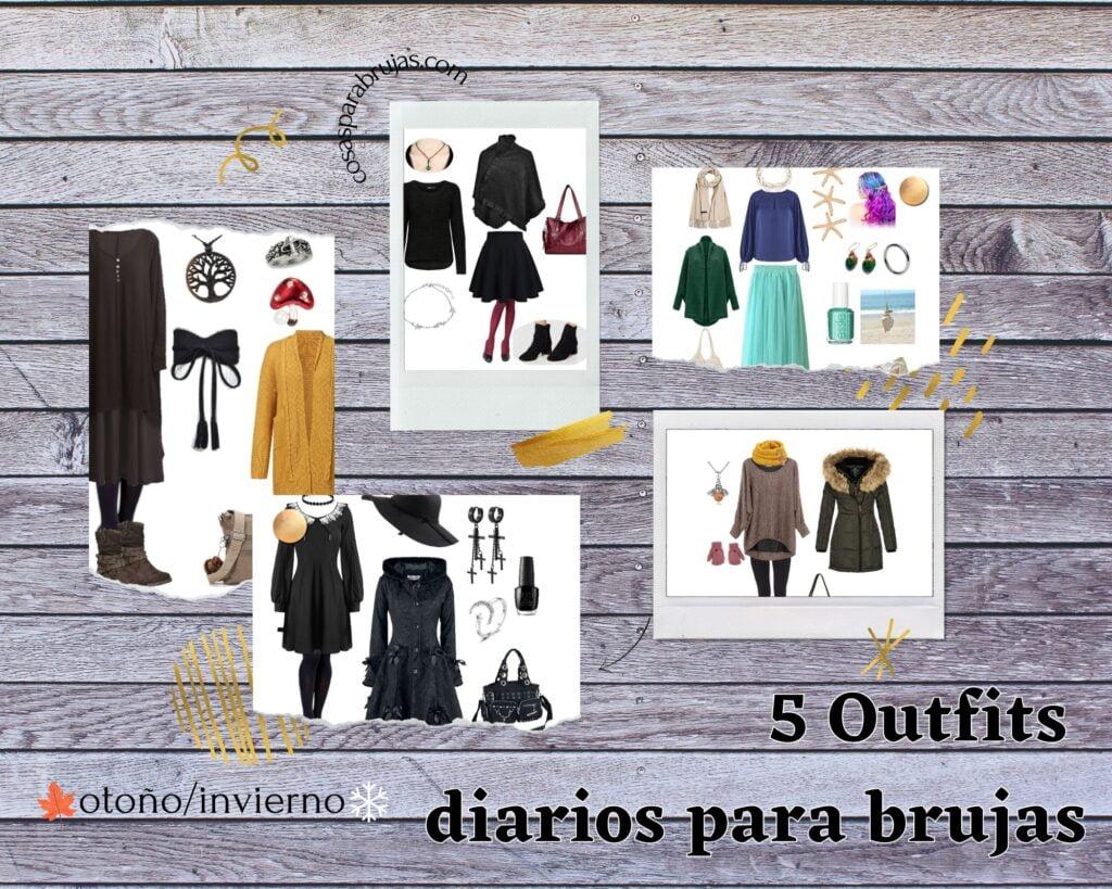 5 outfits para brujas modernas