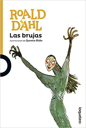 portada del libro Las brujas de roald dahl