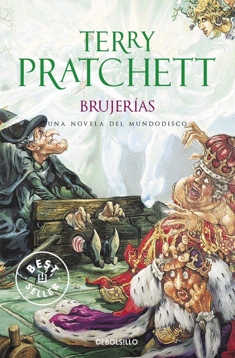 portada del libro Brujerías de Terry Pratchett