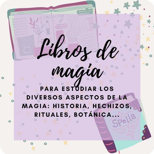 Libros para estudiar magia