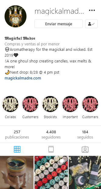 cuentas de instagram mágicas Magikal Madre